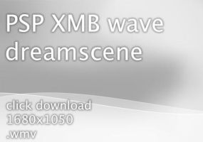 PSP XMB wave dreamscene by will-yen