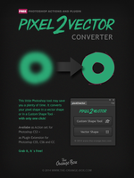 Pixel2vector - Free Pixel To Vector Converter by templay-team