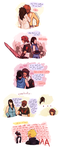 squall can actually ramble (when it's about rinoa) by hyamara