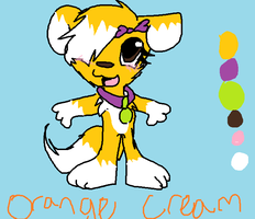 orange cream ref by Doodle-To-The-Rescue