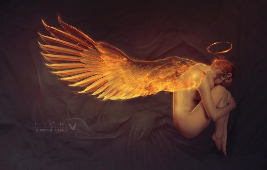 Sleeping Angel by Adipose620
