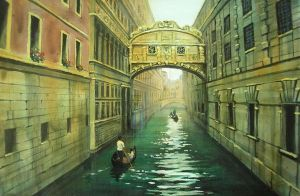 Venice. The bridge of sighs by natalia-guschina