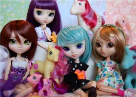 Pullips and Ponies II by sunnybunny09