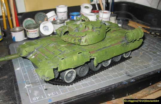1/35 Zvezda T-80BV update by Tank-Dragon2014