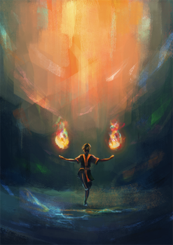 Firebender by AngHuiQing