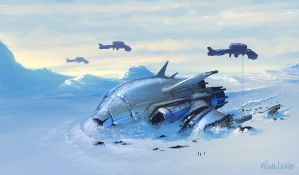 Arctic Shipwreck by Miggs69