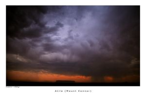 Storm in the desert by godintraining