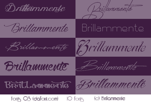 Fonts #03 by lucemare