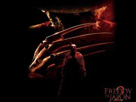 FREDDY VS JASON-2 by Darkness-Man