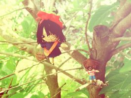 kiki's delivery service string dolls by Em-Ar-Ae