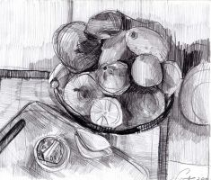 still life_drawing_02 by ChoAngel