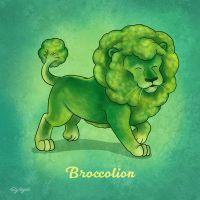 Broccolion by TrollGirl