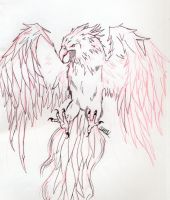 Firebird Tattoo Design 1 by TellMeTheBlues
