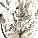 Majin Vegeta by Avalanche-X