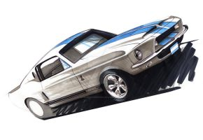 Ford Shelby GT350 by johnbridgedesign