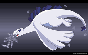 Lugia - Pokemon - FA by WavesOfWealth