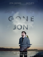 GONE JON - JonTron Movie Poster Parody by EyebrowScar
