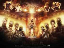 wallpaper royal rumble 2014 by ahmed-aldhfeeri