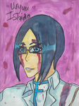 Uryu Victory Watercolor by kakashi-copycat-kun