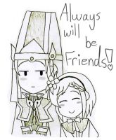 Sima Yi X Gracia *Friends Forever* by gaming123456