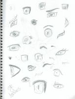 Eye Reference by Awesomesaucical