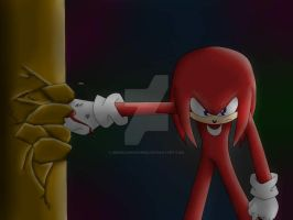 Knuckles The Echidna by MonicaShadowXD