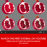 VIDEO - Pomegranate Process by SaxonSurokov