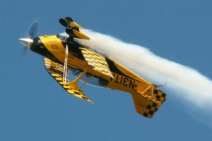 Pitts Special Inverted Pass by Kippenwolf