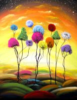 Lollipop Trees by Mattsart