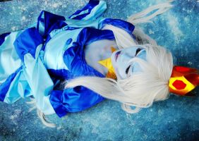 Adventure Time-Ice Queen cosplay by DeluCat