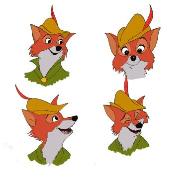 Robin Hood Face Study by TartarusWolf