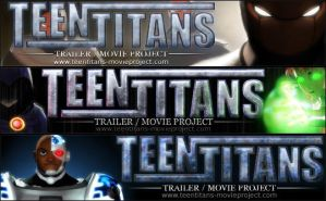 TT: Teen Titans Project Banner by Lightning5trike