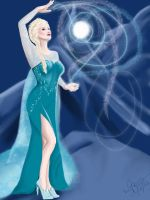 Elsa: The Snow Queen by SempreAmore