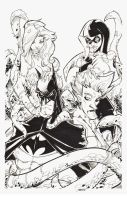 11x17 Commission Batman and friends? by rantz