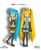 VOCALOID - Switcharoo by Kyramei