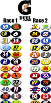 Gatorade Duel at Daytona Lineups by NASCAR-Caps