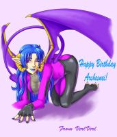 Happy Birthday Arshesnei by CathyStephens