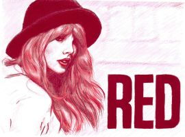Red by bearOnUnicycle