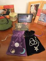 Trade - Two Wicca purses by CridarlAlba