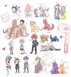 Doodle Requests by myneea