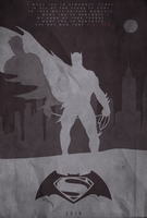 Remember, Clark - Batman vs. Superman Poster by edwardjmoran