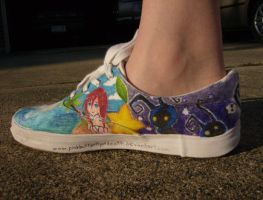 Kingdom hearts shoe by pinkbutterflyofdeath