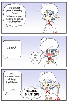 [FF14] Nameday Present by Miss-It-Girl