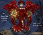 Red Rooster Angel by LadyAquanine73551