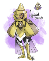 Pokemon: AEGISLASH by ky-nim