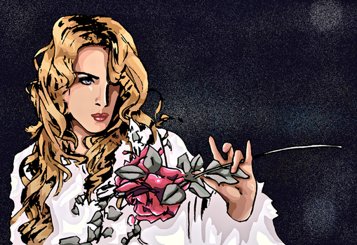 kamijo colored in mspaint XD 2 by kanogt