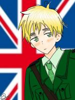 Tsundere England by Darkness637