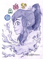 LoK - Korra by KeyshaKitty