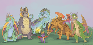 when i was a young dragon by edface
