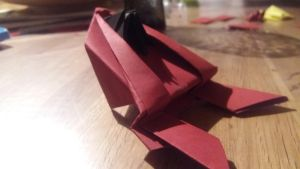 Origami Frog by Mikosou